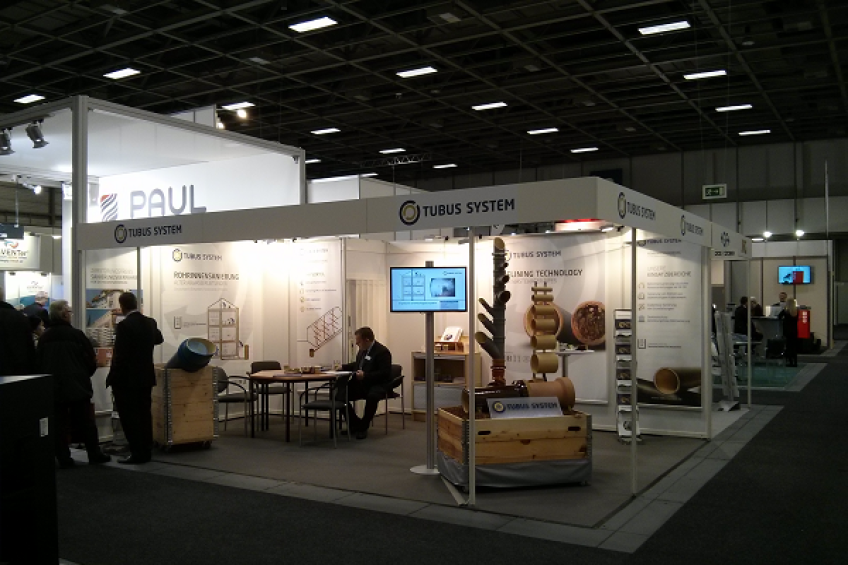 RELINING WITH TUBUS SYSTEM @ BAUTEC BERLIN 2014