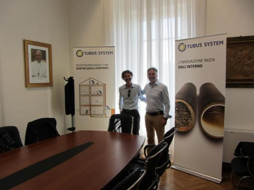 GETTING BIGGER, NEW OFFICE ESTABLISHED IN ITALY !
